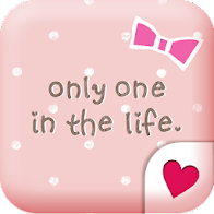 Cute wallpaper★Pink polka dots
