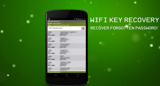Recovery Password Wifi Network