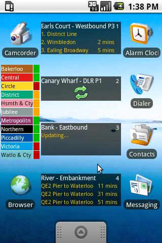 London Tube Status - screenshot