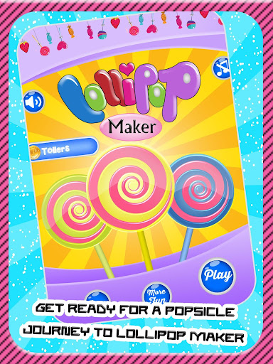 棒棒糖机,儿童果味厨师游戏