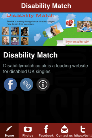 Disability Match