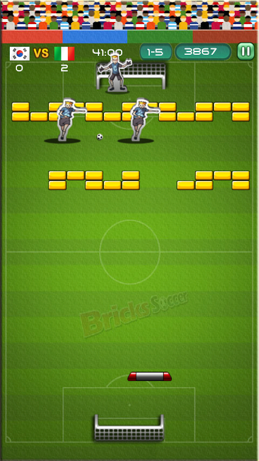 BRICKS SOCCER - screenshot