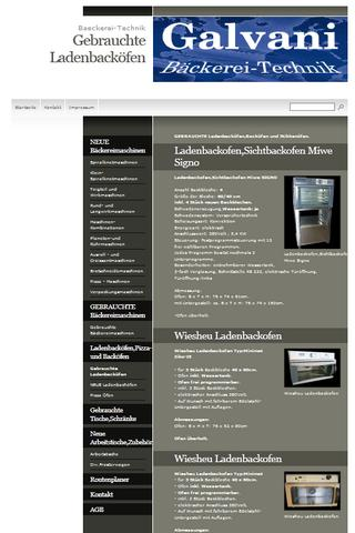 Bäckereimaschinen - screenshot