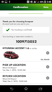 Europcar – Car Rental App screenshot 1