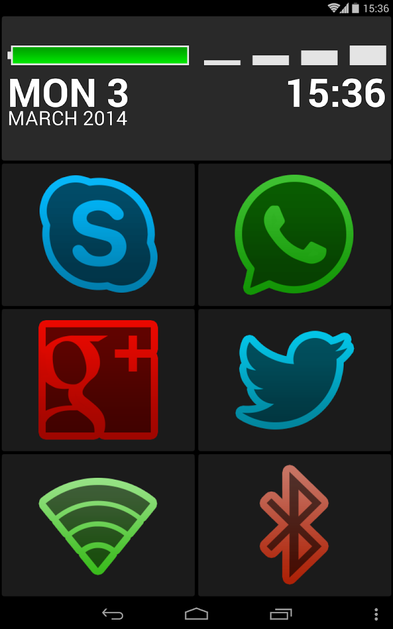 BIG Launcher Screenshot 12