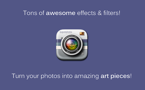 SuperPhoto - Effects + Filters - screenshot thumbnail