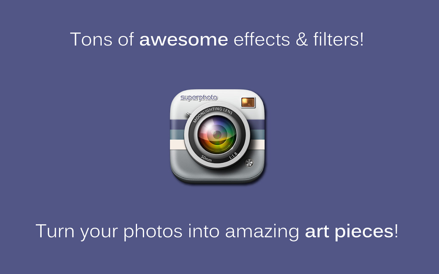 SuperPhoto - Effects + Filters - screenshot