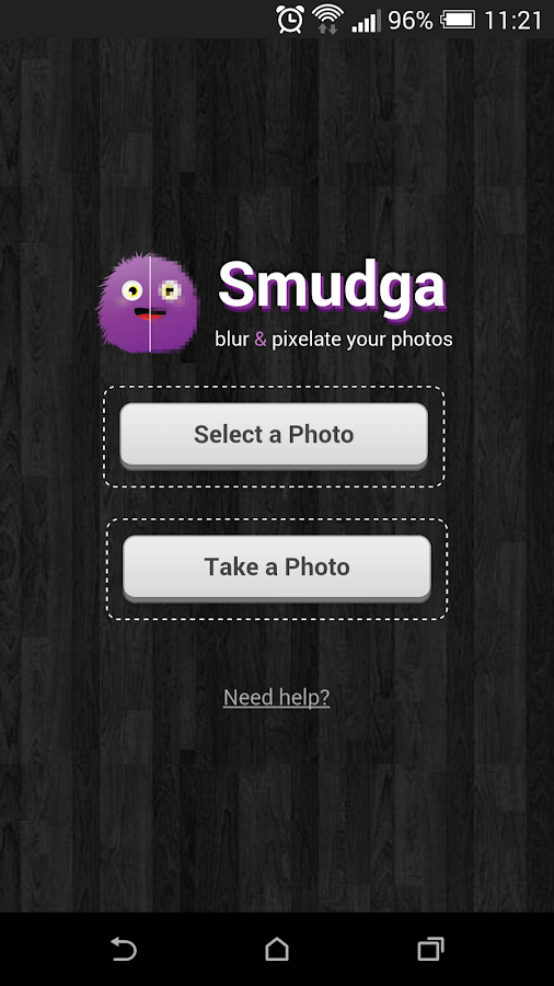 Smudga- Blur & pixelate photos- screenshot