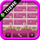 exDialer Pink Roses Theme icon