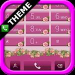 exDialer Pink Roses Theme v1.02