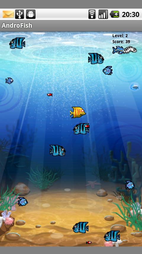 AndroFish (1.5) - screenshot