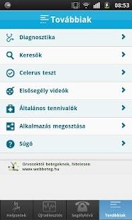 Elsősegély - Mit kell tennem?- screenshot thumbnail