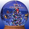 Christmas Globe Live Wallpaper icon