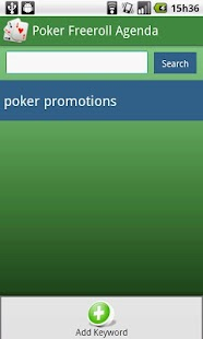 Poker Freeroll Agenda - screenshot thumbnail