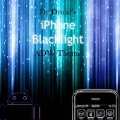 iPhone Blacklight ADW Theme