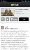 Screenshot of Barcelona Travel Guide