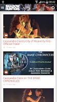 Screenshot of Cassandra Clare: Shadowhunters