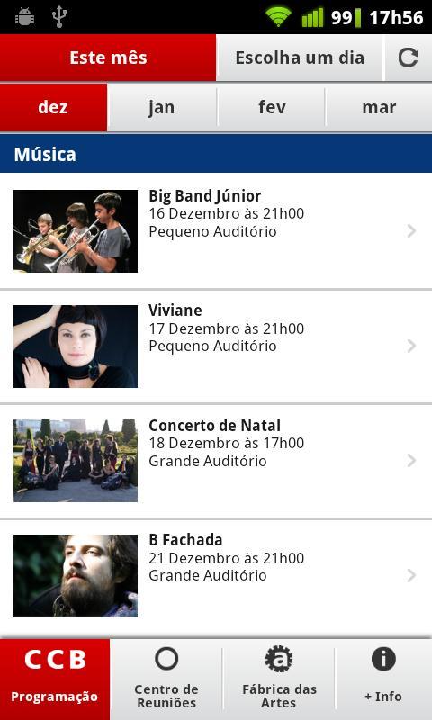 Centro Cultural de Belém - screenshot