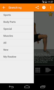 Stretching Routines - screenshot thumbnail