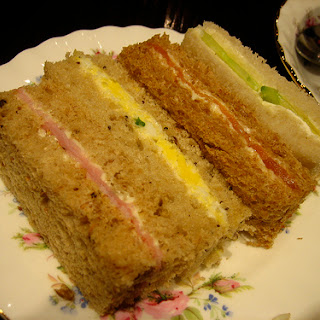Curried Tea Sandwiches