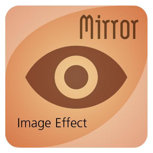 Mirror Image Effect LOGO-APP點子