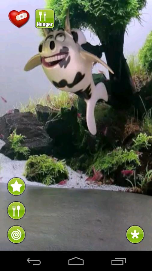 Talking Cassie Cowfish - screenshot