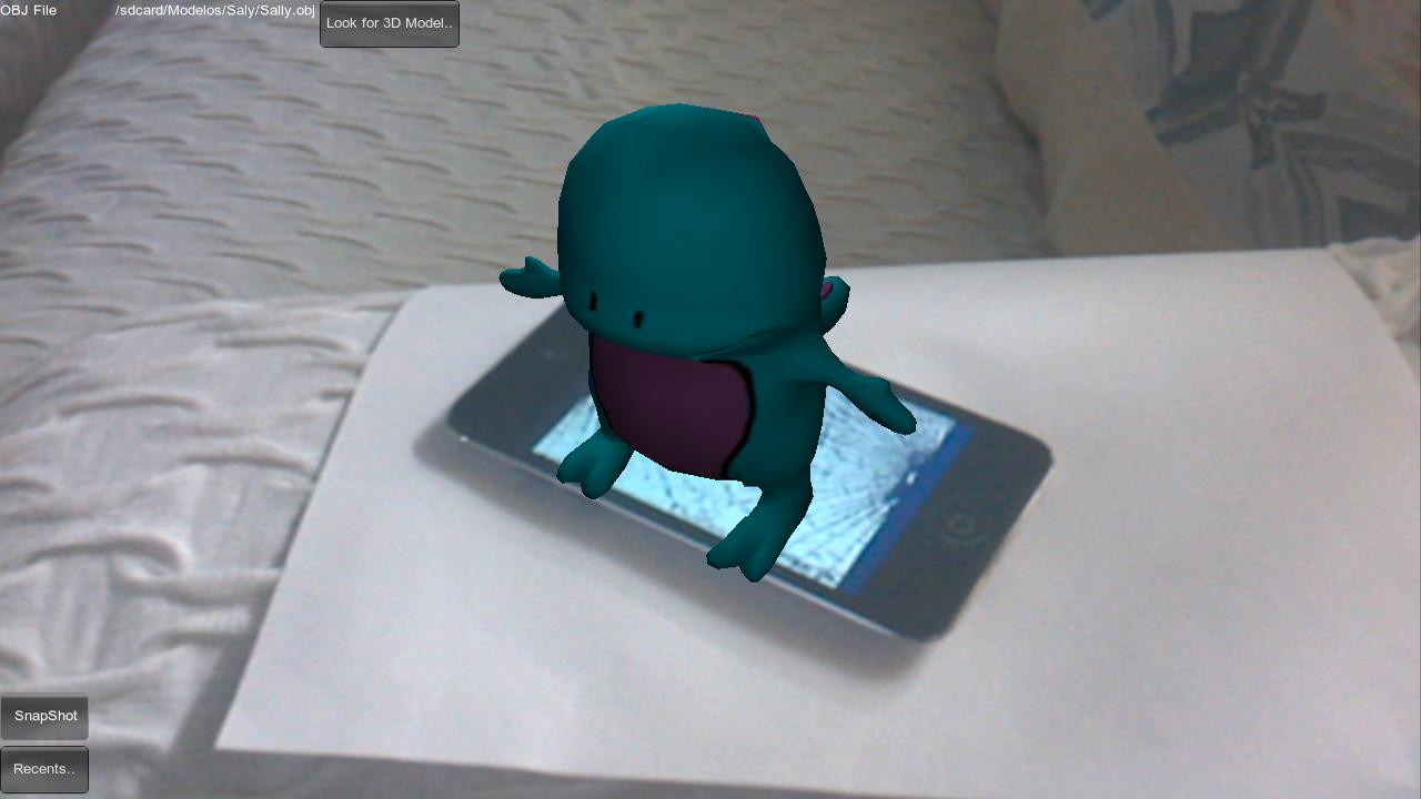 3D Loader Augmented Reality - screenshot