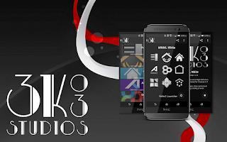Screenshot of 3K MNML White - Icon Pack