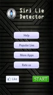 Siri Lie Detector - screenshot thumbnail