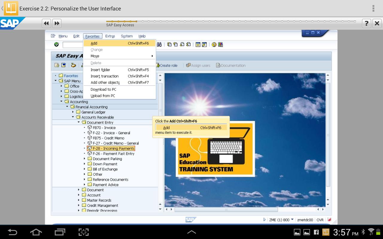 SAP Learn Now- screenshot