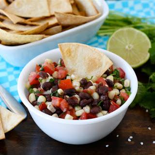 Black Bean Corn Salsa.