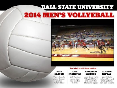 BSU Volleyball - screenshot thumbnail