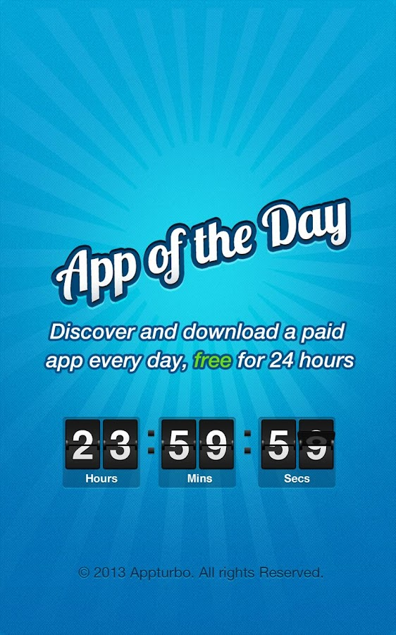 App of the Day - 100% Free - screenshot