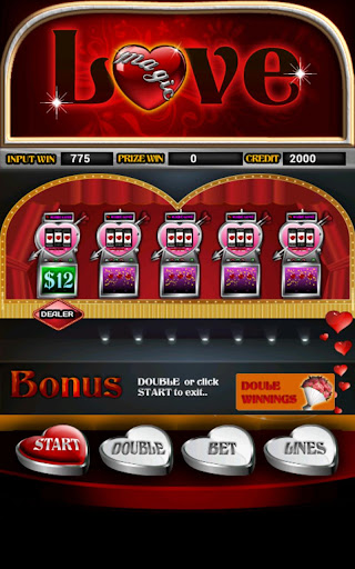 Magic Love Slot Machine HD Screen Capture 2