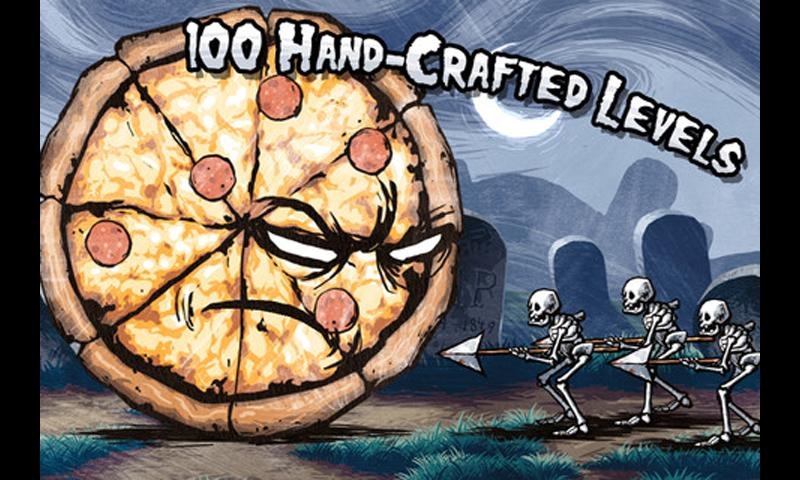 Pizza Vs. Skeletons - screenshot