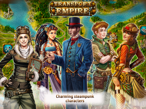 Transport Empire: Steam Tycoon  screenshots 17