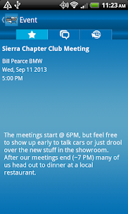 BMW Car Club of America - screenshot thumbnail
