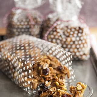 Cherry Pistachio Granola Bites
