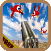 Angry space bird shooter