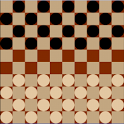 Checkers multiplayer P2P/Local icon