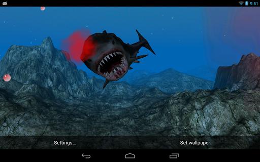 無料个人化Appのシャークアタックの3D LWP(無料)|記事Game