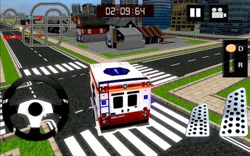 911救急車レスキュー3D