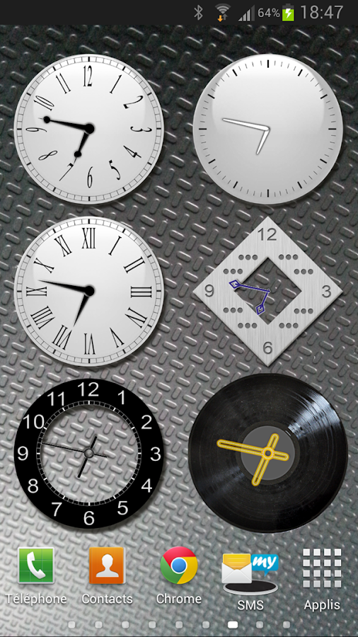 analog clock widgets android apps on google play. Black Bedroom Furniture Sets. Home Design Ideas