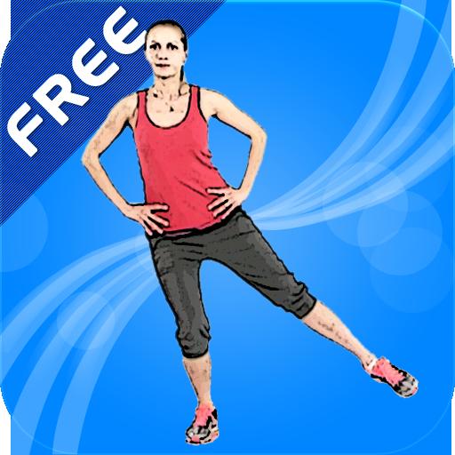 女性の足のワークアウトFREE 健康 LOGO-玩APPs