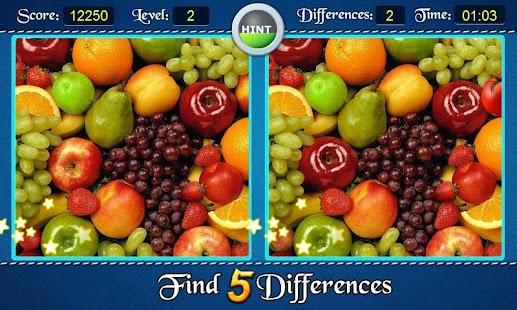 查找差異 Find 5 Differences