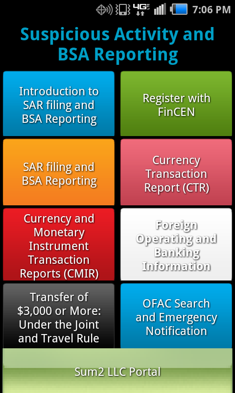 AML SAR Filing / BSA Reporting - Android Apps on Google Play