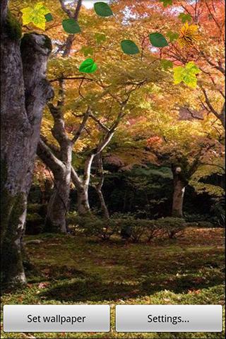 Animated wallpaper Grove