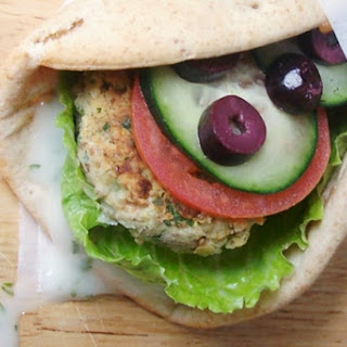 "Vegan Falafel Wraps with Dairy-Free ""Yogurt"" Sauce"