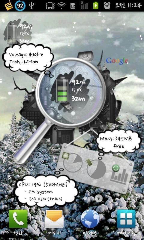 Battery Widget Pro - screenshot