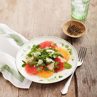 Citrus Salad with Hazelnut-Dijon Dressing
